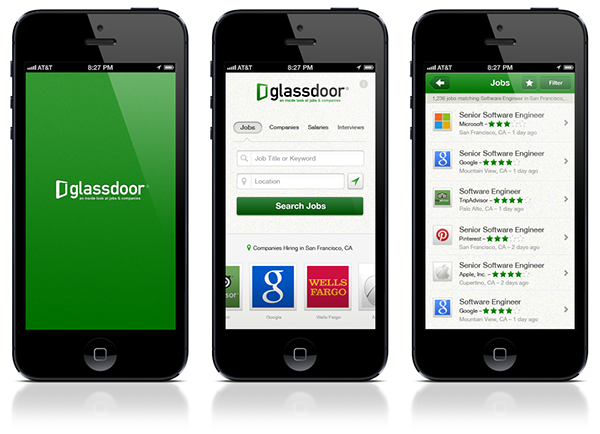 glassdoor mobile